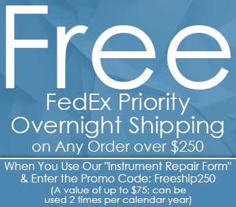 Free Fedex Priority Overnight Shipping on Any Order over $250